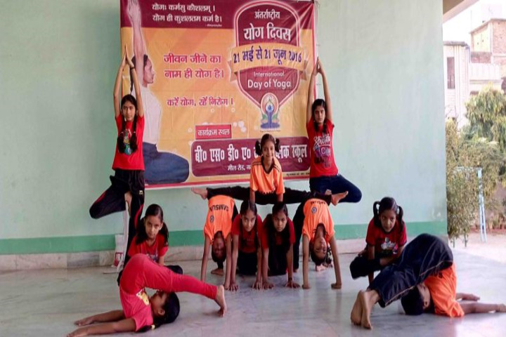 Dav Public School-Yoga Day