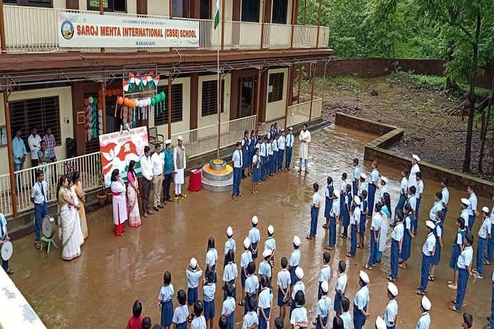 Saroj Mehta Intenational School-Independence Day