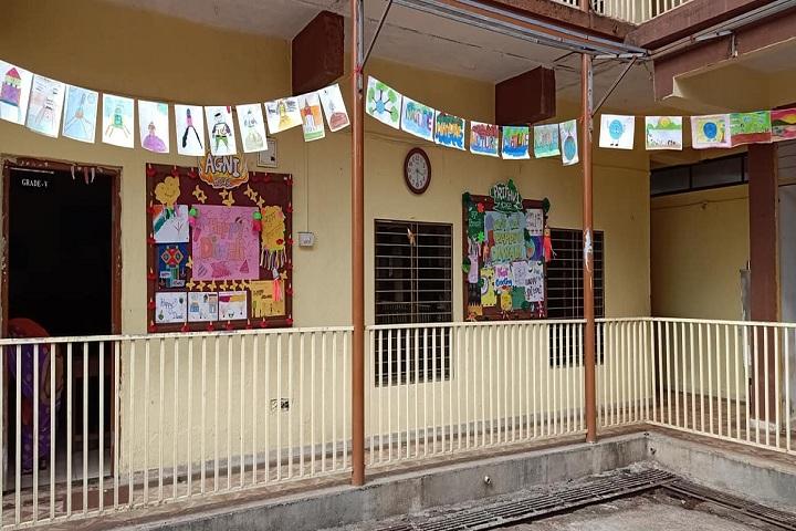 Saroj Mehta Intenational School-School View