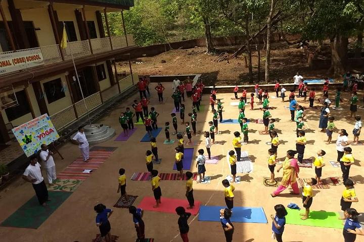 Saroj Mehta Intenational School-Yoga