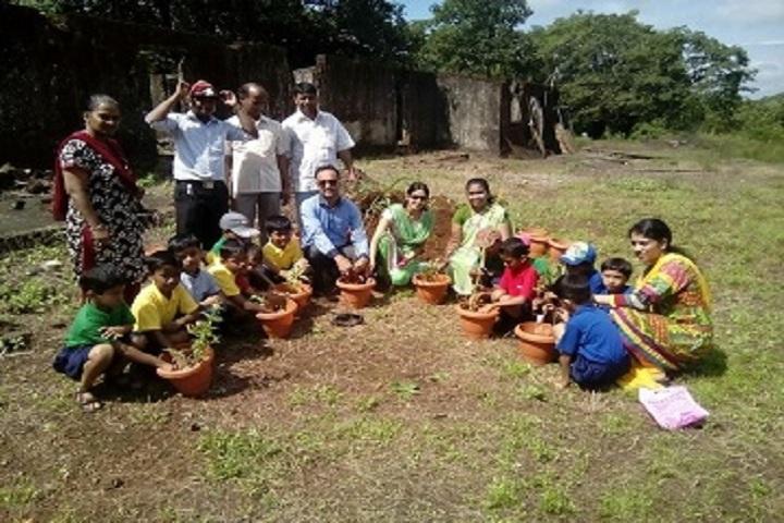 Saroj Mehta Intenational School-Tree plantation