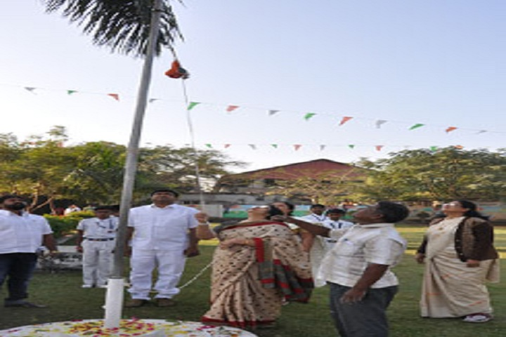 Scholars Convent-Flag hoisting