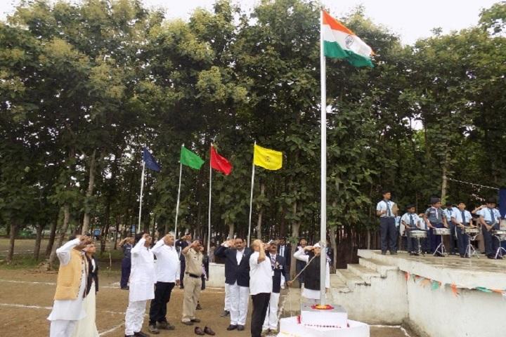 School Of Scholars-Flag hoisting