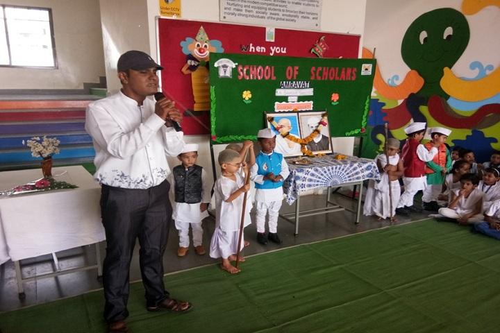 School Of Scholars-Gandhi jayanthi