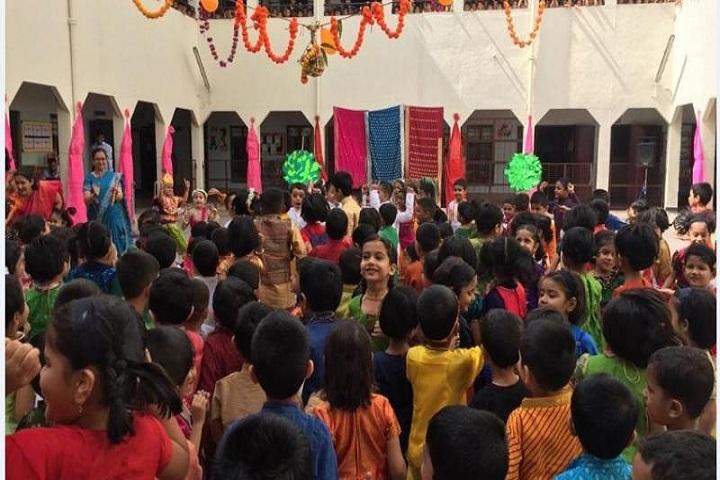 Sevasadan English Medium School-Dahi Handi Celebration