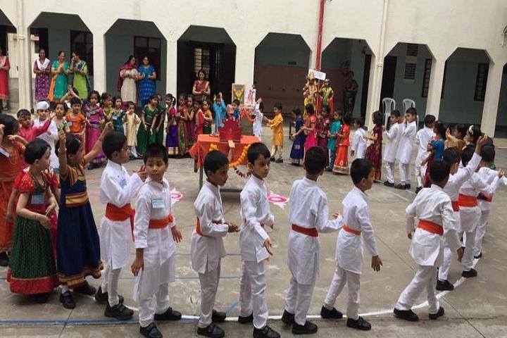 Sevasadan English Medium School-Palkhi Celebrations