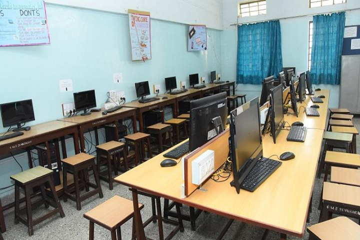 Sevasadan English Medium School-computer lab
