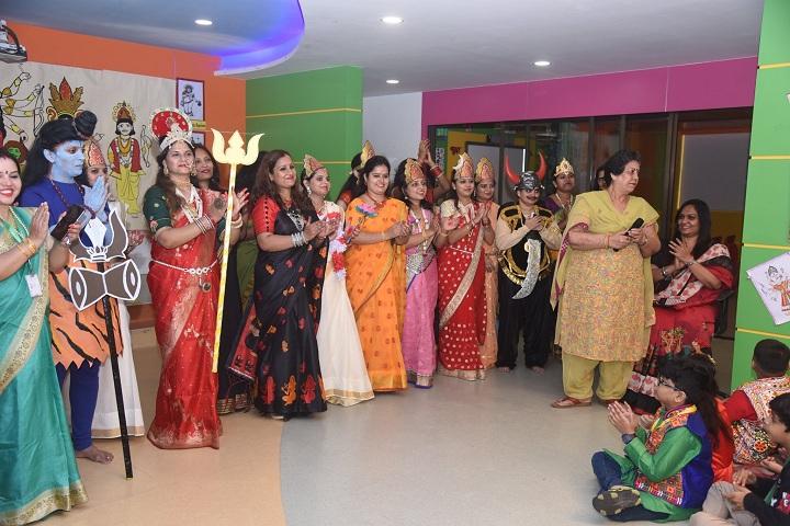 Seven Square Academy-Dassehra Celebration