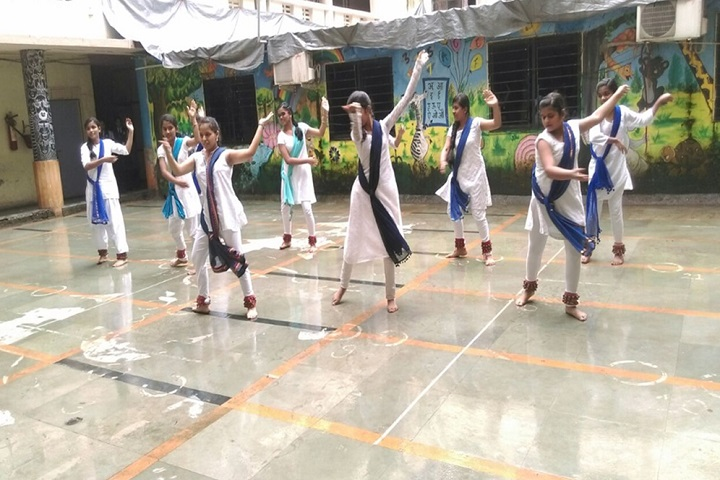 Shantiniketan Public School-Dances
