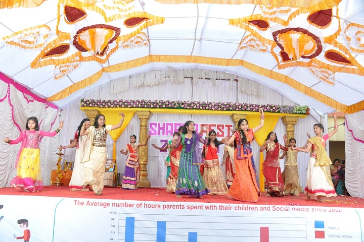 Sharda English School-Dance Performance
