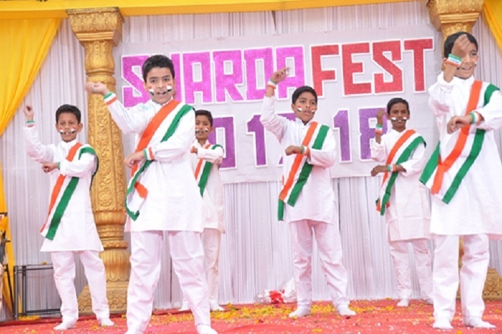 Sharda English School-Group Dance