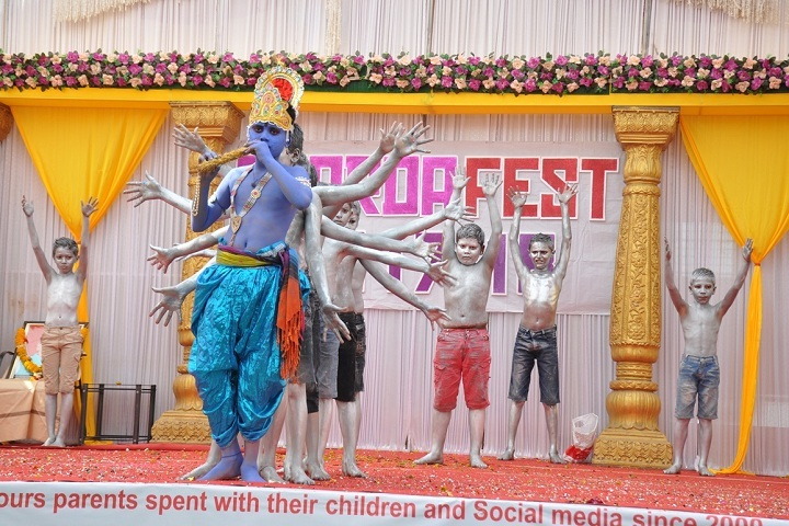 Sharda English School-Janmashtami Celebration