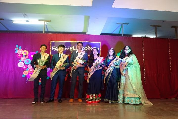 Sheth Karamshi Kanji English School-Farewell day