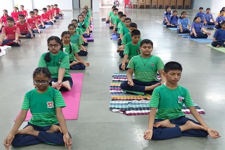 Sheth Karamshi Kanji English School-Yoga