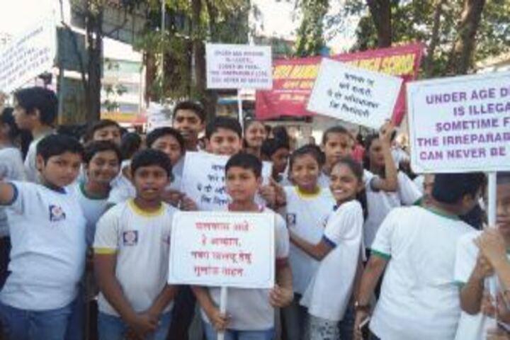 Sheth Vidya Mandir-Rally