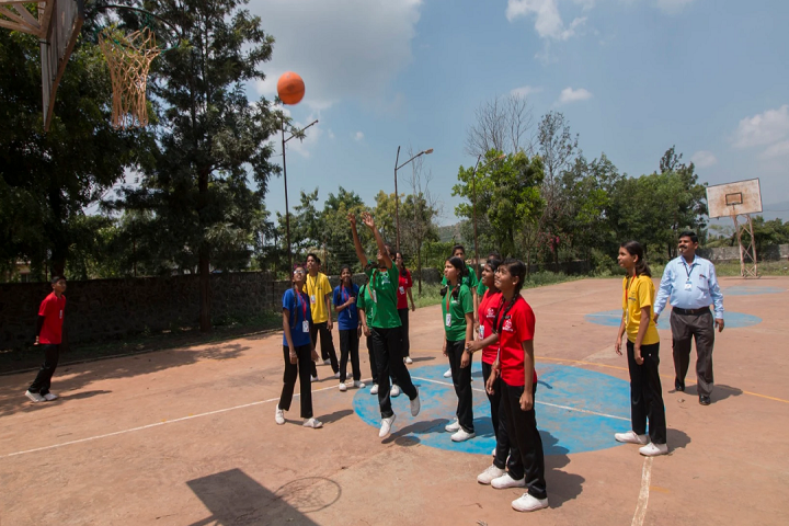 Shivneri School-Basket Ball Court