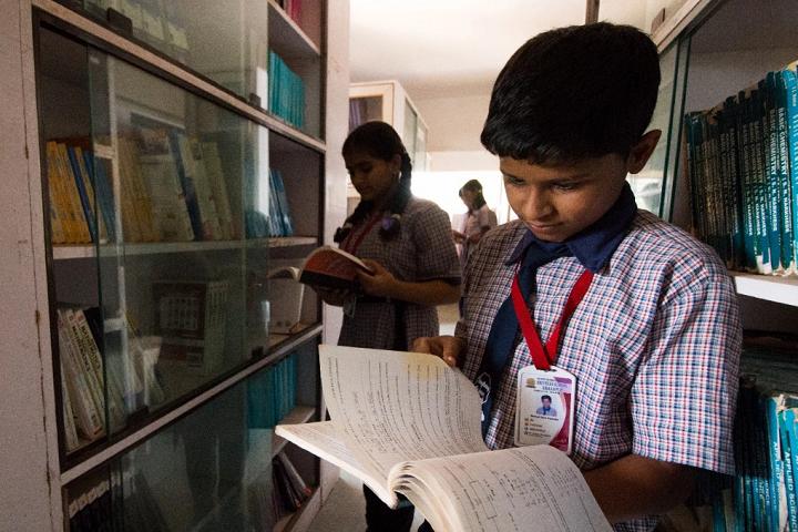 Shivneri School-Library