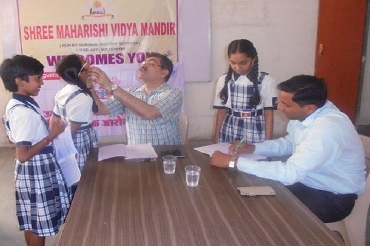 Shree Maharishi Vidya Mandir-Medical Checkup