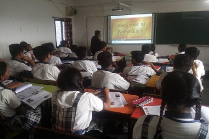 Shree Maharishi Vidya Mandir-Smart Classroom