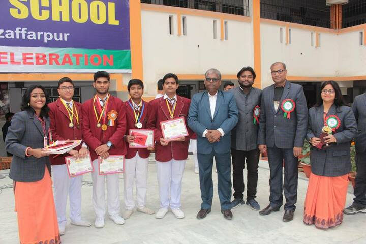 Dav Public School-Medal Distribution