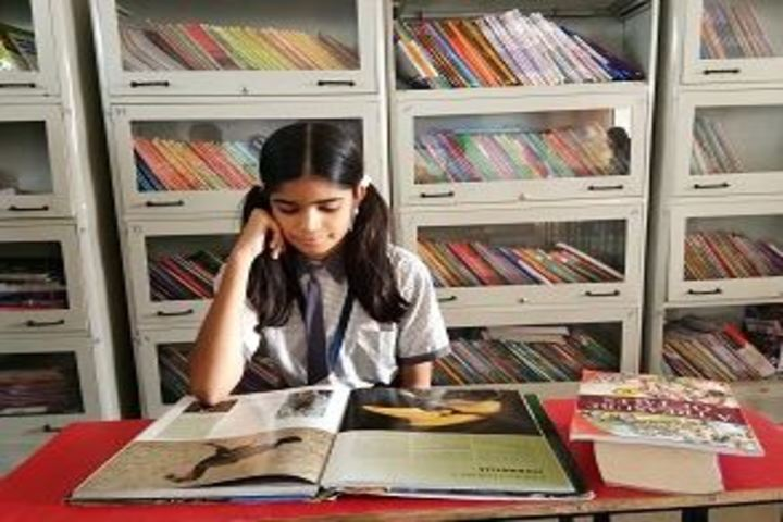Shree Sai Convent-Library