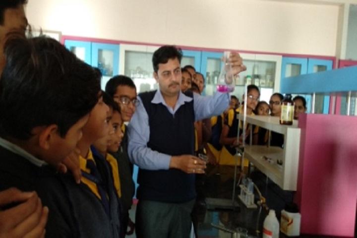 Shri Mahavir English Medium School-Chemistry Lab