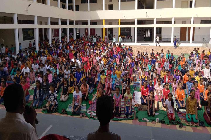 Shri Mahavir English Medium School-Yoga