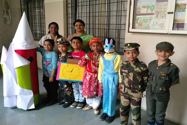 Sinhgad City School-Fancy Dress Competition