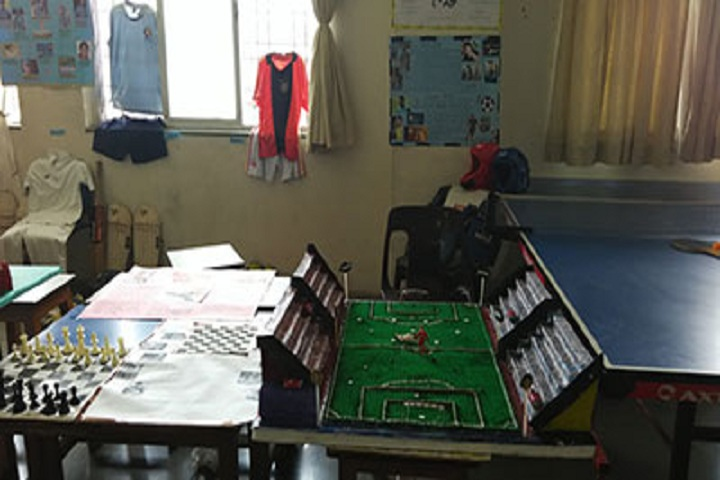 Sinhgad City School-Indoor Games Exhibition
