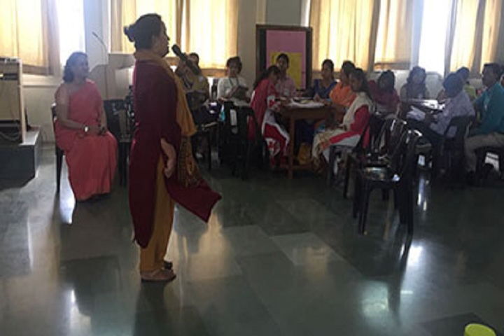 Sinhgad City School-Staff Meet