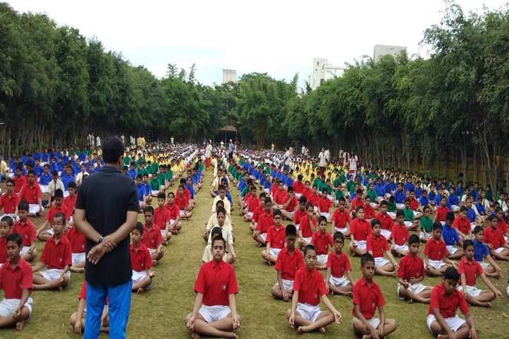 Sinhgad City School-Yoga