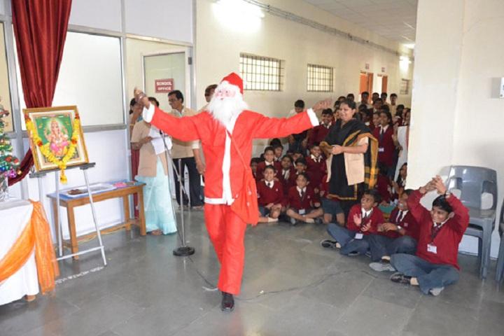 Sinhgad Public School-christmas celebrations