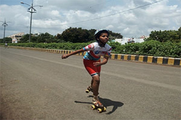Sinhgad Public School-skatting