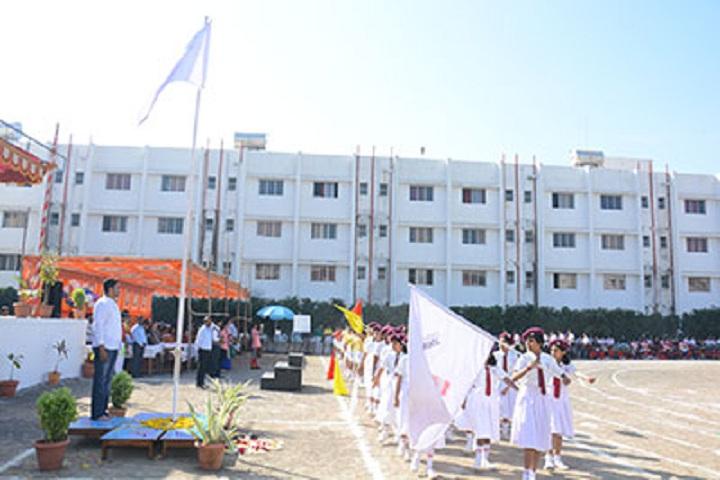 Sinhgad Public School-Flag Hoisting