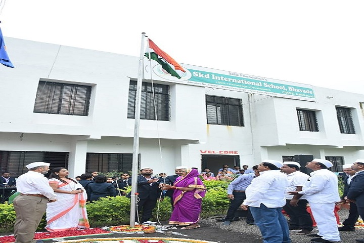 Skd International School-Independence Day