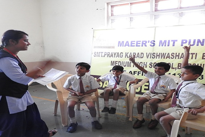 Smt Prayag Karad English Medium High School-ISA Activities