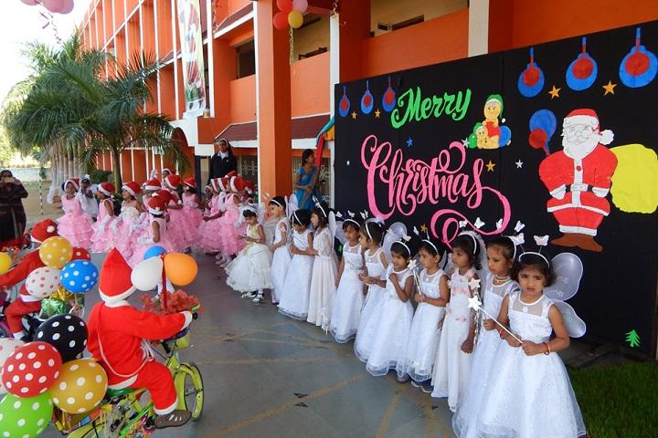 St. Claret English Medium School- Christmas celebration