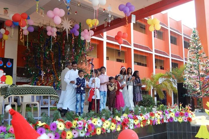 St. Claret English Medium School- Christmas