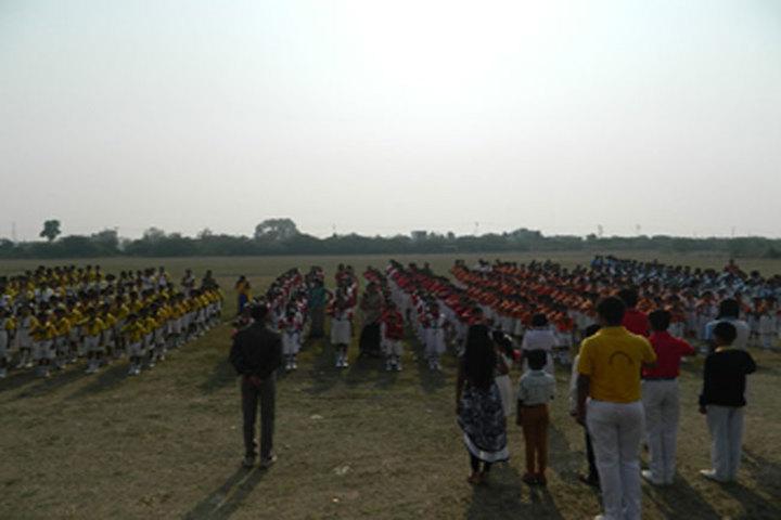 Swami Awadheshanand Public School-Assembly