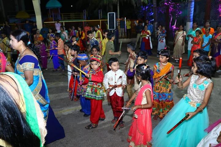 Swami Vivekanand Integration English School-Festival Celebration