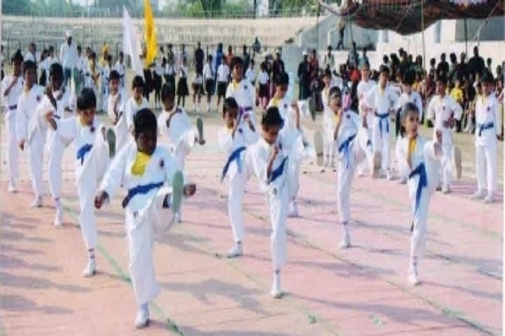 Swami Vivekanand Public School-Karate