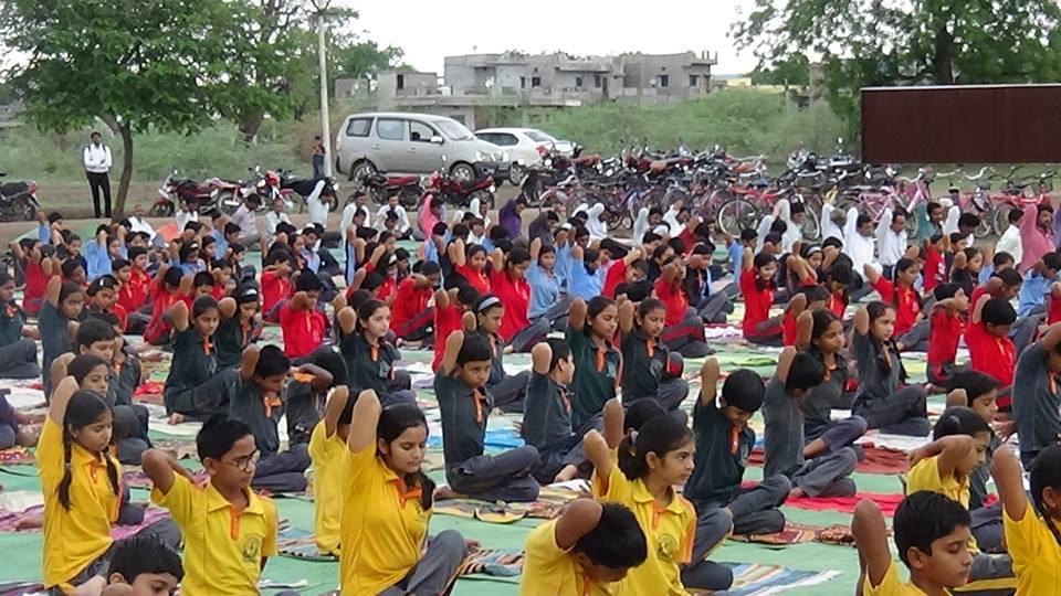 Swami Vivekananda International School-International Yoga Day