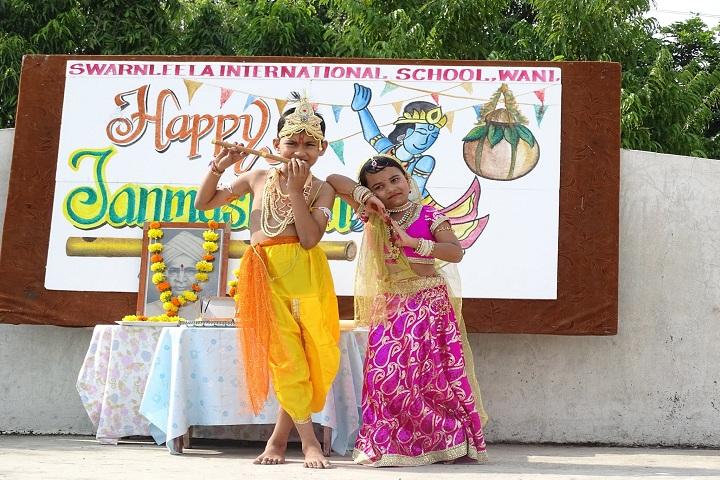 Swarnleela International School-Krishna Jhanmastami