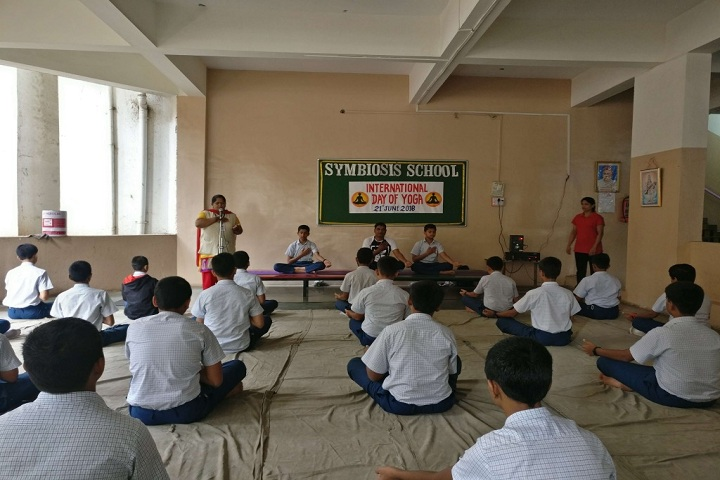 Symbosis School-International Yoga Day