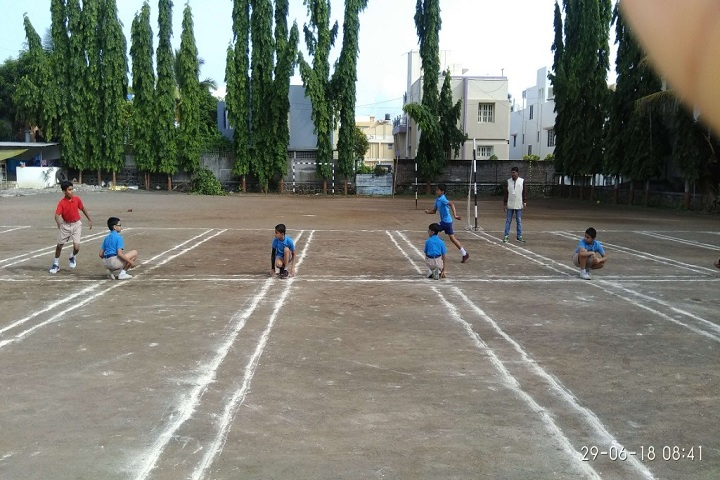 Symbosis School-Outdoor Games