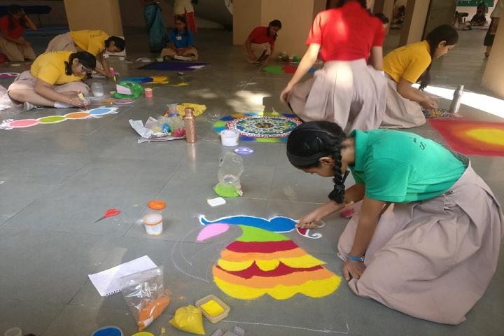 Symbosis School-Rangoli