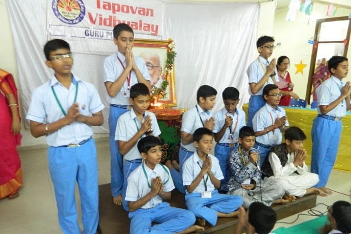 Tapovan Vidhyalay-Guru Purnima