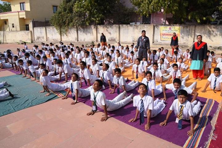 Tapti Public School-Yoga Class
