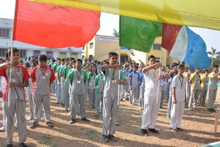 Teens World Corporate School-Parade