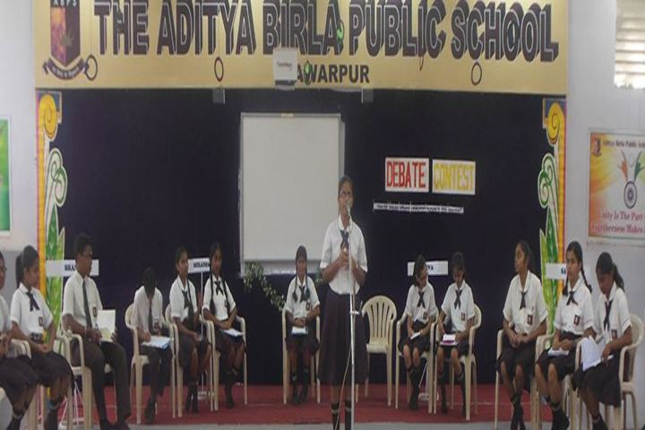 The Aditya Birla Public School-Debate